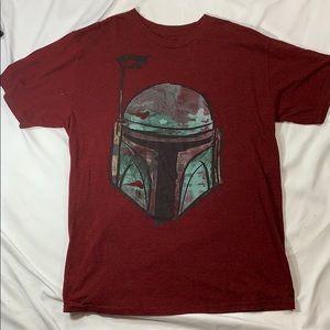 Men's Large Star Wars Mandorlian/Boba Tee